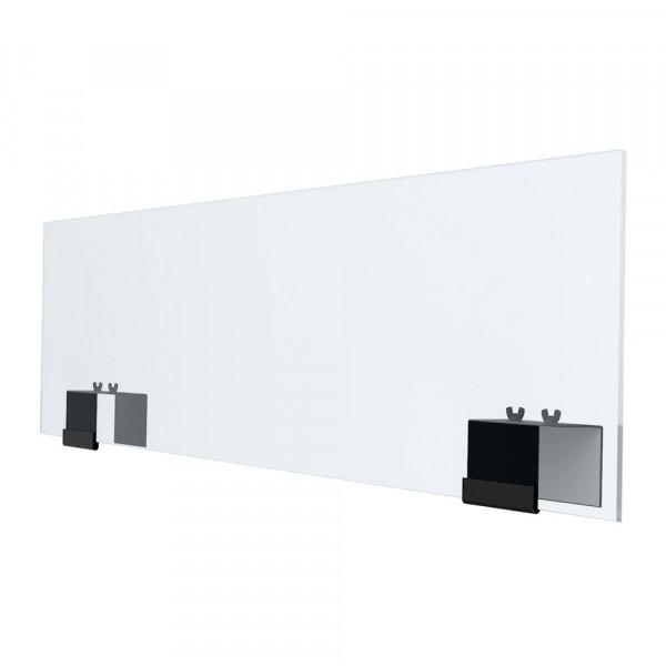 "Plexiglass Partitions - 12"" x 48"" - Steel - Acrylic"