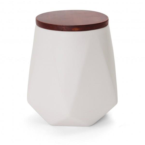 """Optiplex Desk Container - 7""""H x 6"""" Dia. - Large White"""