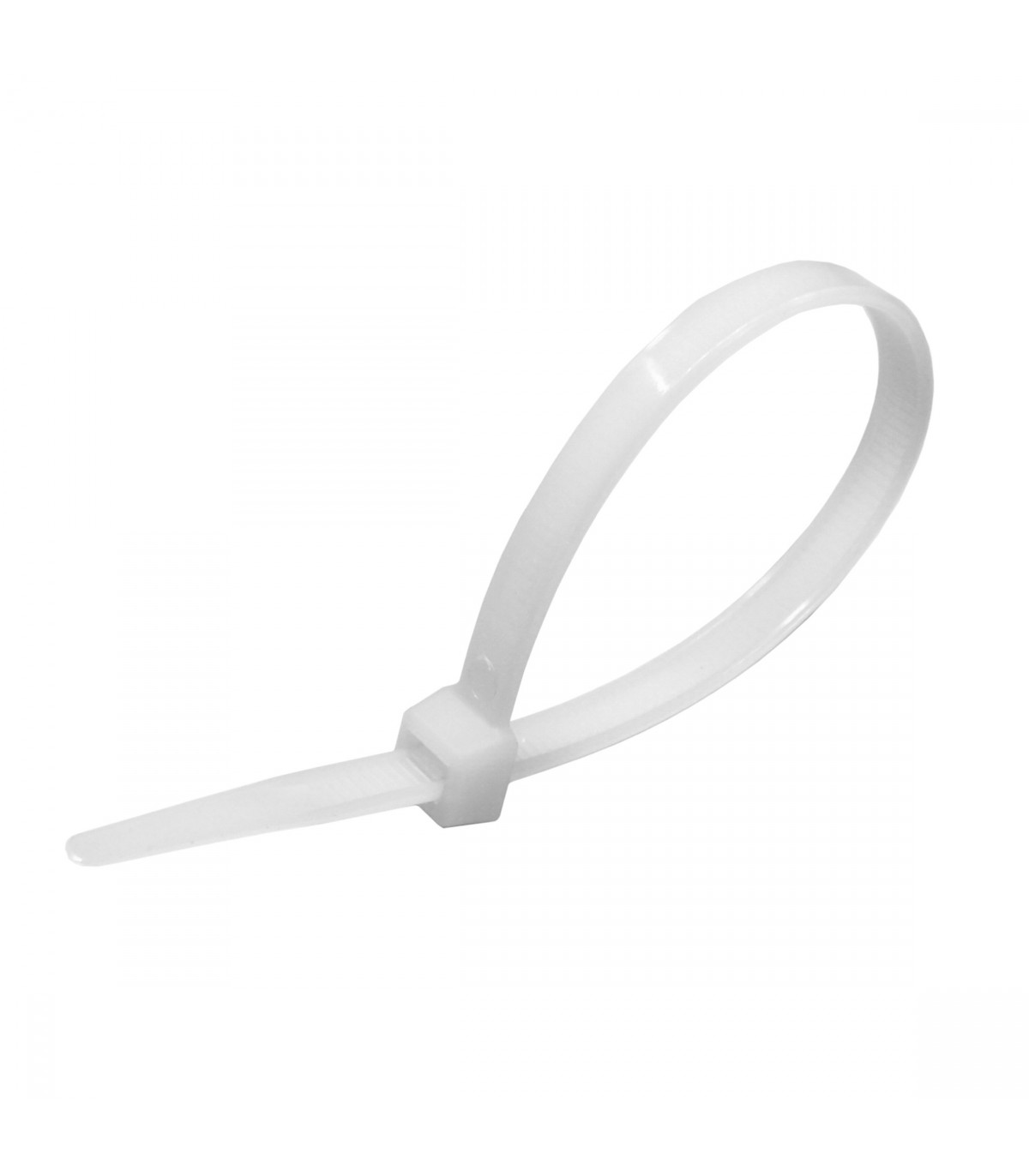 25 5 5 Quot White Cable Ties