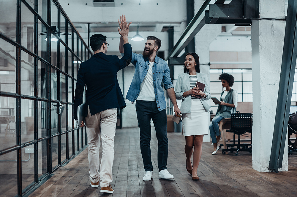 Company Culture High Five