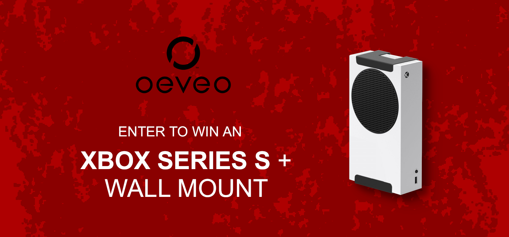 Enter to Win an Xbox Series S and Wall Mount from Oeveo